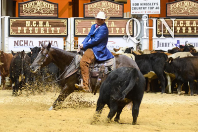 Wade Miller Claims NCHA Futurity Unlimited Amateur Title