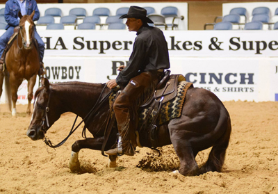 Johnny English Snags NCHA Super Stakes Limited Open Championship
