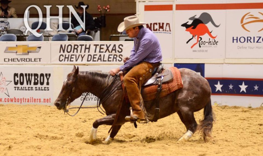 NCHA Futurity Non-Pro Champion Crowned